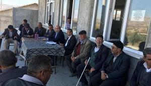 DSİ Bölge Müdürü Mahmut Berber Göçerli'yi Ziyaret Etti