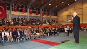Emirdağ'da Nihat Hatipoğlu Programı Yapıldı