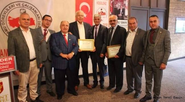 'En Başarılı İlçe Belediye Başkanı' ödülü Ali Erol'a verildi