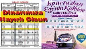 GÖLLER EKSPRESİ SEFERLER YENİDEN BAŞLIYOR