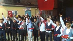 İGM ÜYESİ ALİ ALTAN KAVAKLI KÖYÜNDE ASKER GECESİNE KATILDI..