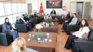KADINLAR MECLİSİ'NDEN SERTESER'E ZİYARET