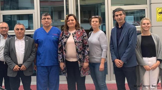 Köksal'dan FertillifeAfyon Hastanesine ziyaret