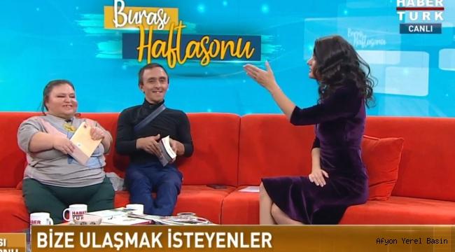 KUBAŞ ÇİFTİ HABER TÜRK TV'DE OYLUM TALU'NUN KONUĞU OLDU..