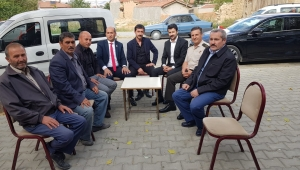 Paşa'dan Gazi'ye ziyaret