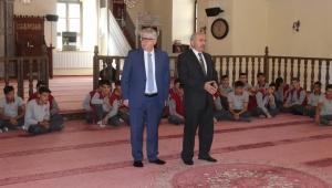 RahmiyeSare Palalı öğrencileri Türbe camisini ziyaret etti