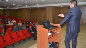 Sağlık kurumlarında görev yapan mutemetlik personeline eğitim verildi