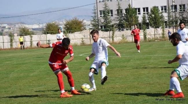 Şuhut Belediye Hisarspor İsçehisarspor Engelini Geçti