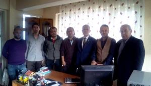 TGF Başkanı Karaca'dan ABAMED'e ziyaret