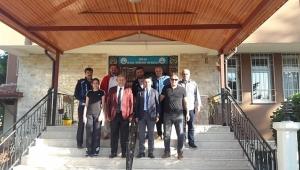 TÜFAD Gültekin Koçer'i ziyaret etti.