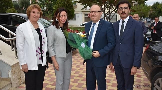 Vali Mustafa Tutulmaz Dazkırı ilçesini ziyaret etti