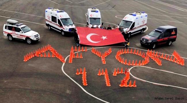 4 yılda 40 Ambulans Sürüş Eğitimi