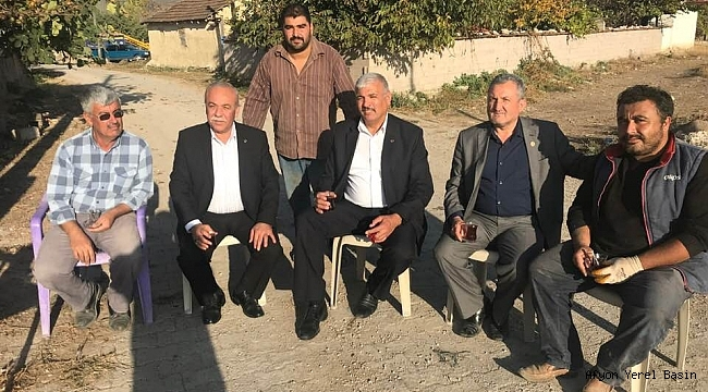 Ak Parti İl Genel Meclis Üyeleri Köy Ziyaretlerine Devam Ediyor
