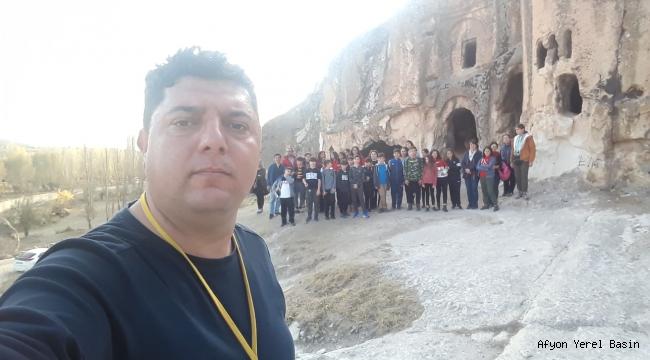 ANTALYA GAZİPAŞA GÜRAY BAŞEĞMEZ ORTAOKULU FRİG VADİSİ TURUNDA..