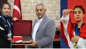 AVRUPA ŞAMPİYONU MERYEM BETÜL ÇAVDAR'DAN ZİYARET