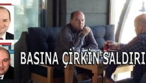 BASINA ÇİRKİN SALDIRI..!