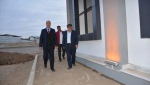 Başkan Bozkurt Cami İnşaatını İnceledi