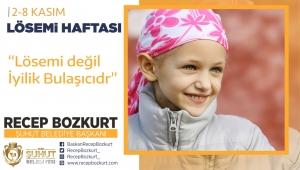 Başkan Bozkurt'tan Lösemi Haftası Mesajı