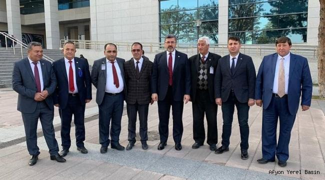 Başkanlardan Ankara çıkarması..