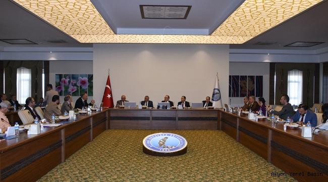 Danışma Kurulu Toplantısı Yapıldı