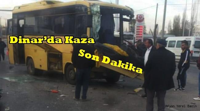 Dinar Tatarlı'da Trafik Kazası