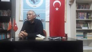 Dinar Türk Ocaklarında Nazım Yıldırım Konferans Verdi