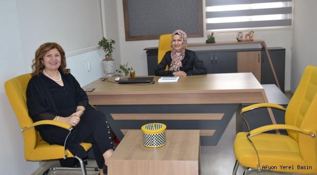 GÜN FM'DEN DR.NADİRE TUNCER'E HAYIRLI OLSUN ZİYARETİ