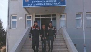 HIRSIZ YAKALANACAĞINI ANLAYINCA JANDARMAYA TESLİM OLDU.!!