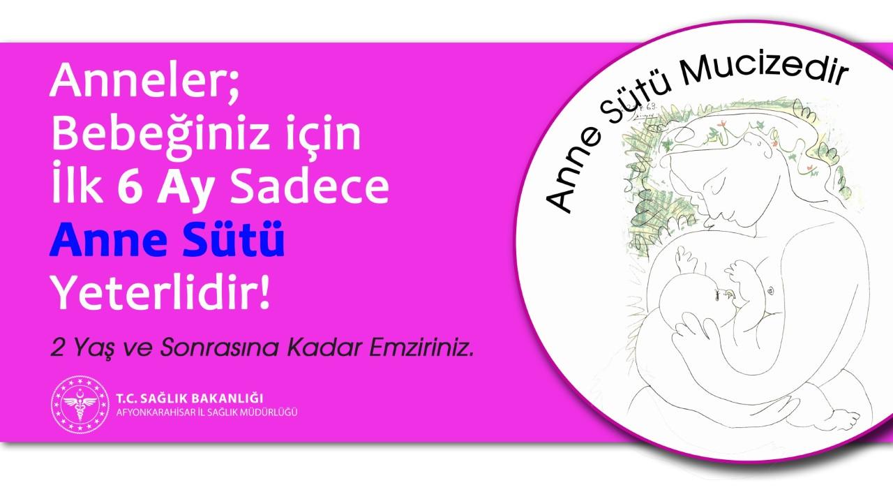 İLK 6 AY ANNE SÜTÜ ÇOK ÖNEMLİDİR..