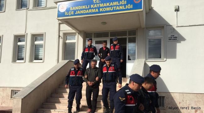 Jandarma HAYVAN Hırsızlarını yakaladı..!!