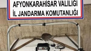 JANDARMA YERALTI HIRSIZLARINI YAKALADI..!!