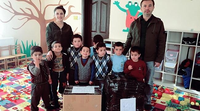 Kocaeli Darıca İlkokulu Öğrencilerinden, Okçular İlkokuluna Hediye