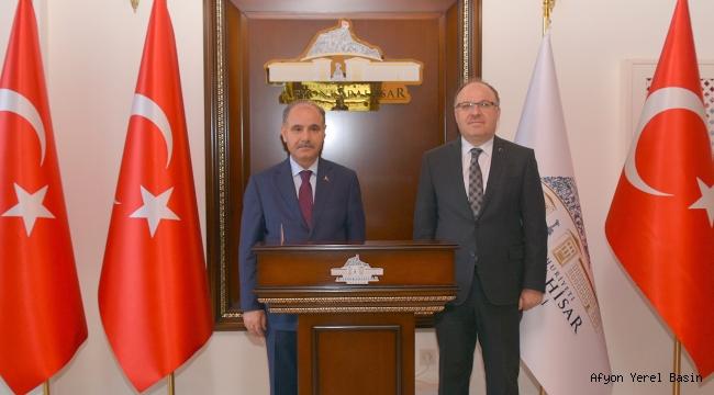 Mehmet Aktaş'tan Vali Tutulmaz'a Ziyaret