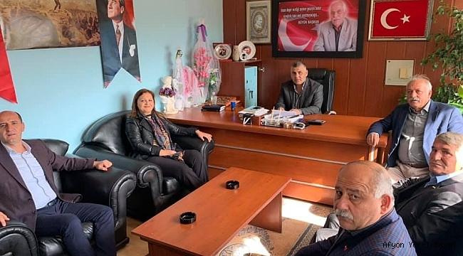 Milletvekili Köksal Yeni Başkan Bayram Ceylan'ı Ziyaret Etti