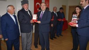 Milli Mücadele Madalyası ve Beratları Tevcih Töreni Yapıldı