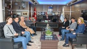 Özel Aler Yaşam Engelli Bakım Merkezinden Başkan Bozkurt'a Ziyaret