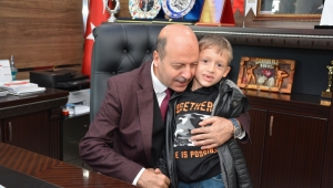 Şehidimizin Emaneti Kayra'da Başkan Bozkurt'a Ziyaret.