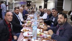 ÜLKEM PARTİSİ İL BAŞKANLIĞI İNTERNET BASINI İLE BİR ARAYA GELDİ
