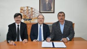 Vali Mustafa Tutulmaz Hayırsever Mevlüt Soydan ile Protokol İmzaladı