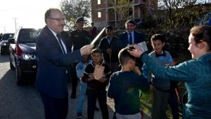 Vali Mustafa Tutulmaz İscehisar İlçesinde Ziyaretlerde Bulundu