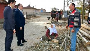 Vali Mustafa Tutulmaz Köy Ziyaretlerinde Vatandaşı Dinledi