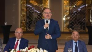 Vali Tutulmaz İl Genel Meclisi Üyeleri İle Yemekte Buluştu