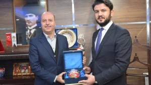 AK Parti İl Koordinatörü Kurtcan Çelebi Şuhut Belediyesini Ziyaret Etti