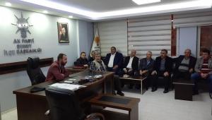 AK Parti Şuhut İlçe Başkanlığı toplandı