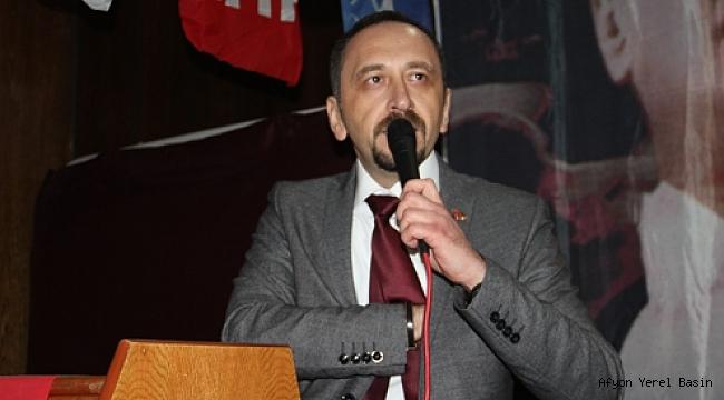 Av. Ali Arıkan CHP Dinar İlçe Başkanı Oldu