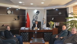 Başkan Bağırkan'dan Başkan Nihat Sarı'ya Ziyaret