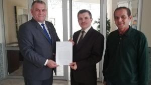 Başkan Barutcu'dan Milletvekili Taytak'a teşekkür