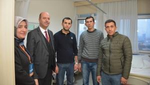 Başkan Bozkurt Gazi Ömer Özkan'ı Ankara'da Ziyaret Etti