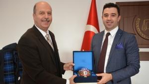Başkan Bozkurt'tan Savcı Ahmet Erol'a Hayırlı Olsun Ziyareti