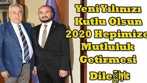 Başkan Sabri Can Bekle'den 2020 Yeni Yıl Mesajı